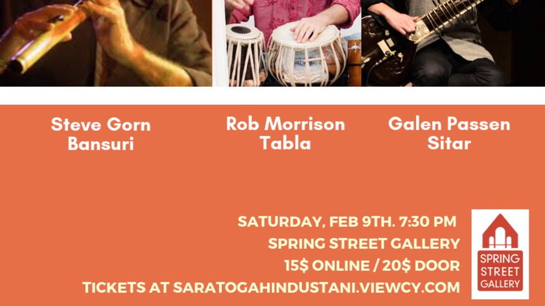 Sitar and Bansuri with Galen Passen and Steve Gorn