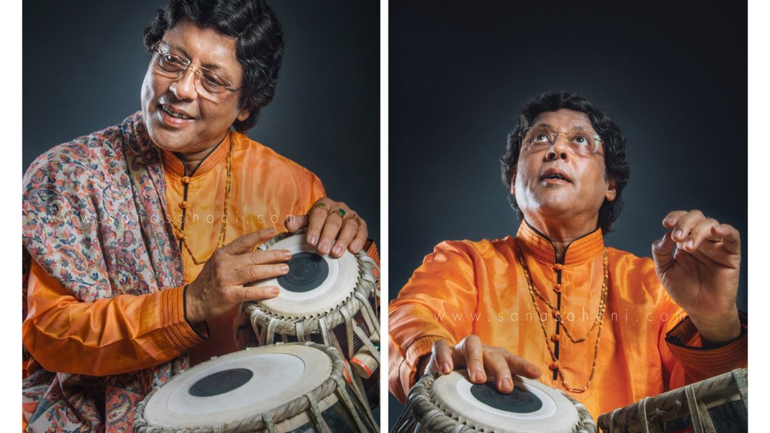 Tabla lecture demonstration by Pandit Anindo Chatterjee