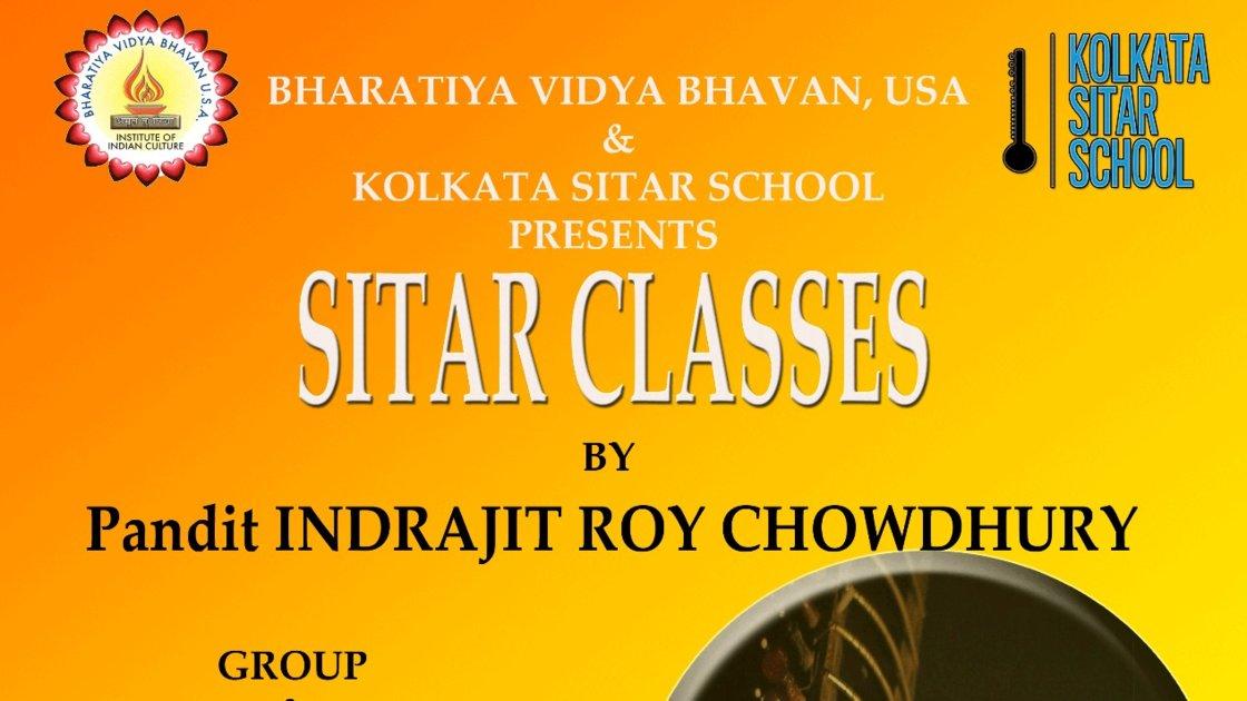 Summer 2019 Group Sitar Class - Bharatiya Vidya Bhavan