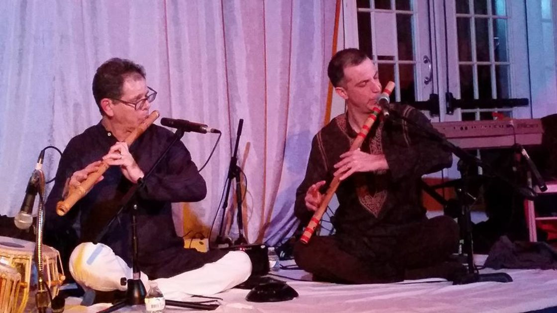 Bansuri Duo with Steve Gorn and Eric Fraser