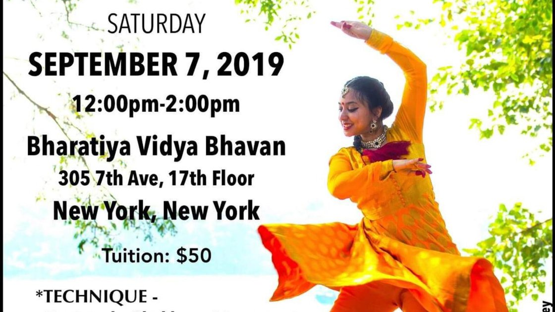 Kathak Intensive Workshop with Labonee Mohanta
