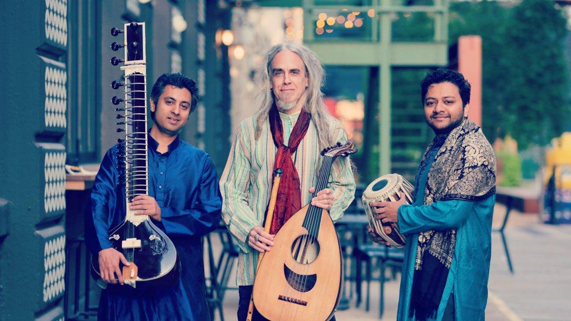 Raqam Trio :Tom Chess, Mir Naqibul Islam, Indro Roy-Chowdhury