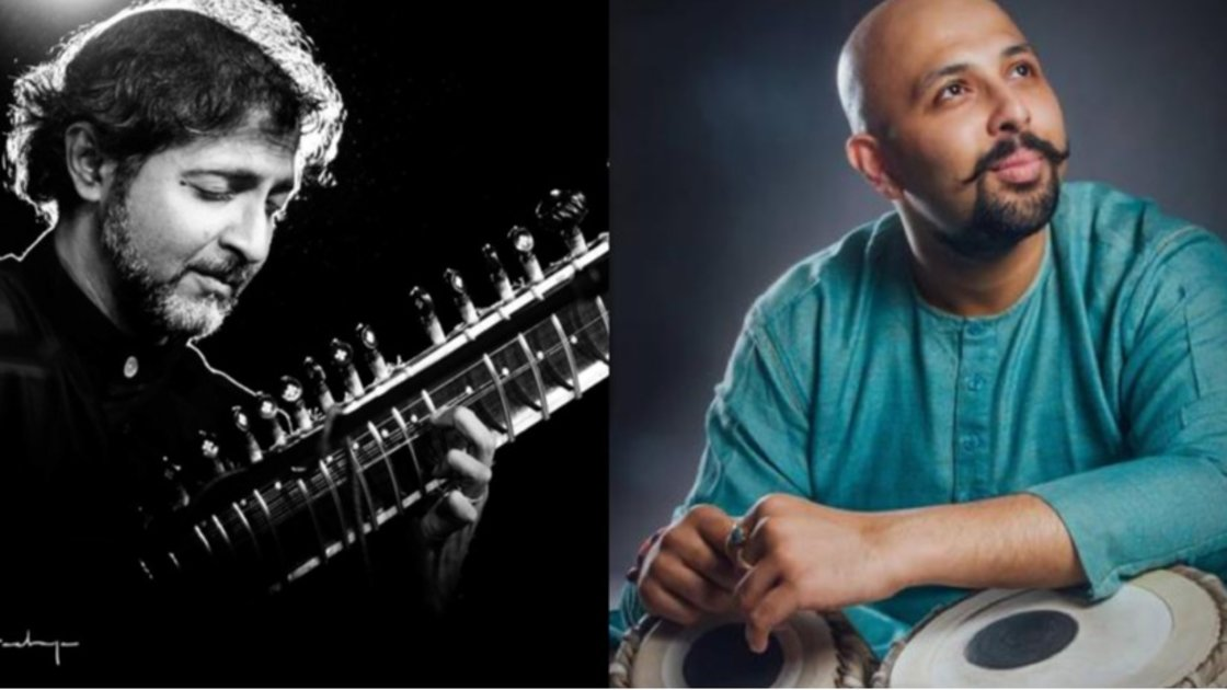 Abhik Mukherjee and Anubrata Chatterjee live in concert