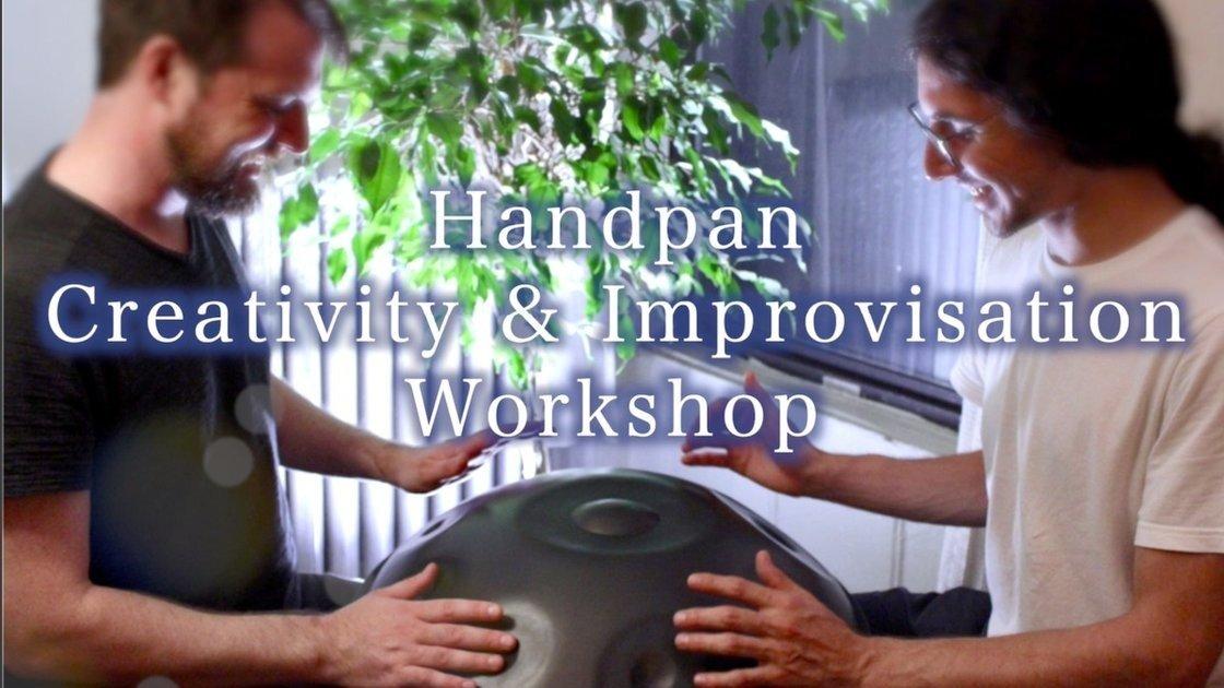 NYC Handpan Creativity & Improvisation Workshop! (2 Class Times!)