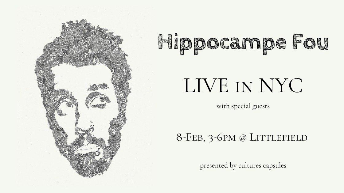 Hippocampe Fou: Au Revoir Brooklyn & Apéro