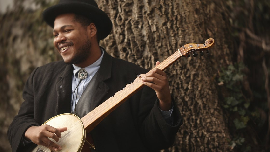"""Barnspace Concert: Jerron """"Blind Boy"""" Paxton feat. The Down Hill Strugglers"""