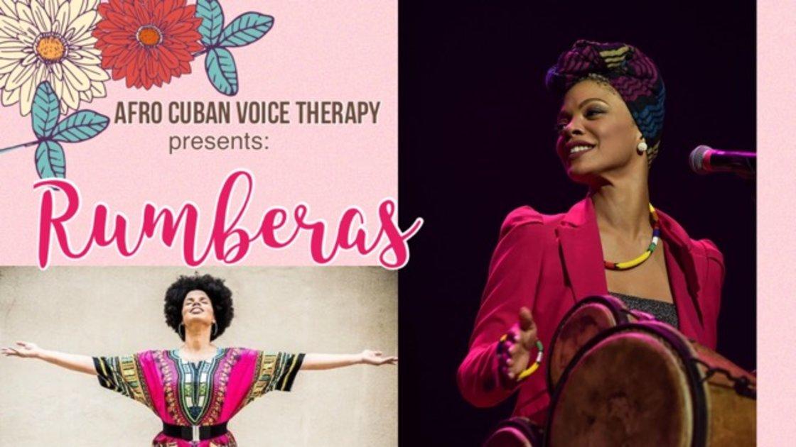 Rumberas: Empowering Women through sisterhood, Percussion and Singing.