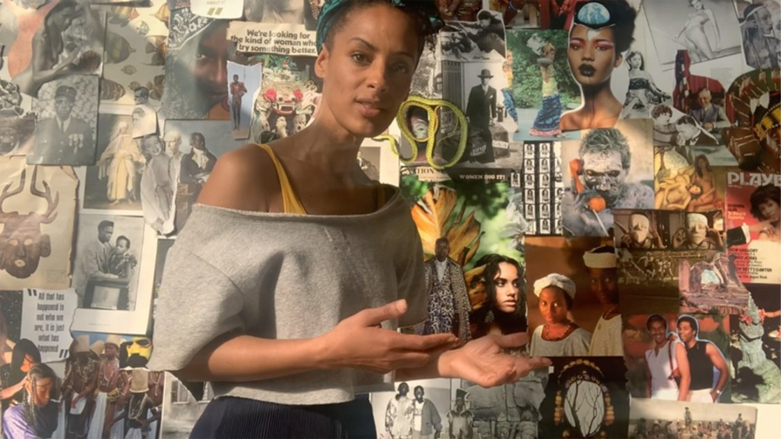Delphine Diallo/ Visionary Studio / Collage workshop
