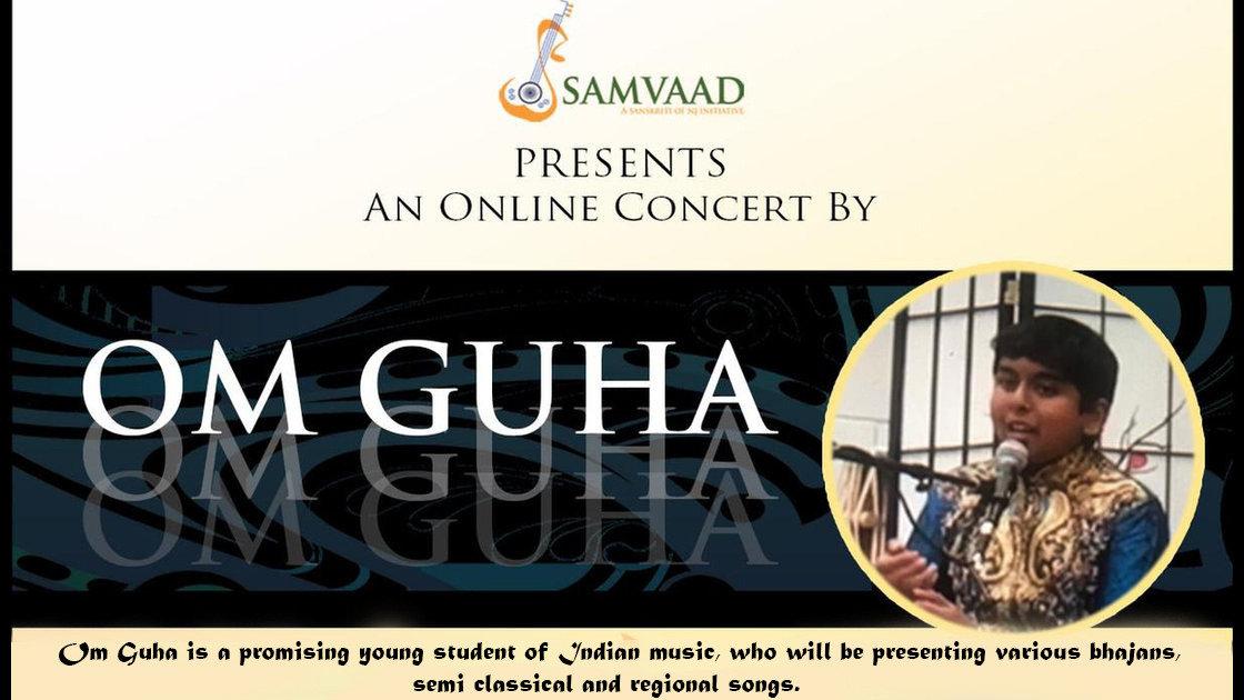 Sanskriti of NJ presents - Om Guha in concert
