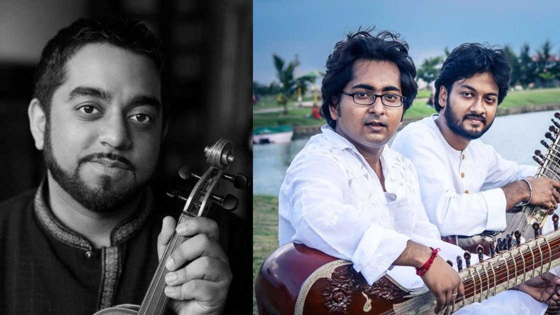 Violin recital by Arun Ramamurthy & Sitar duet: Rohan and Deepshankar
