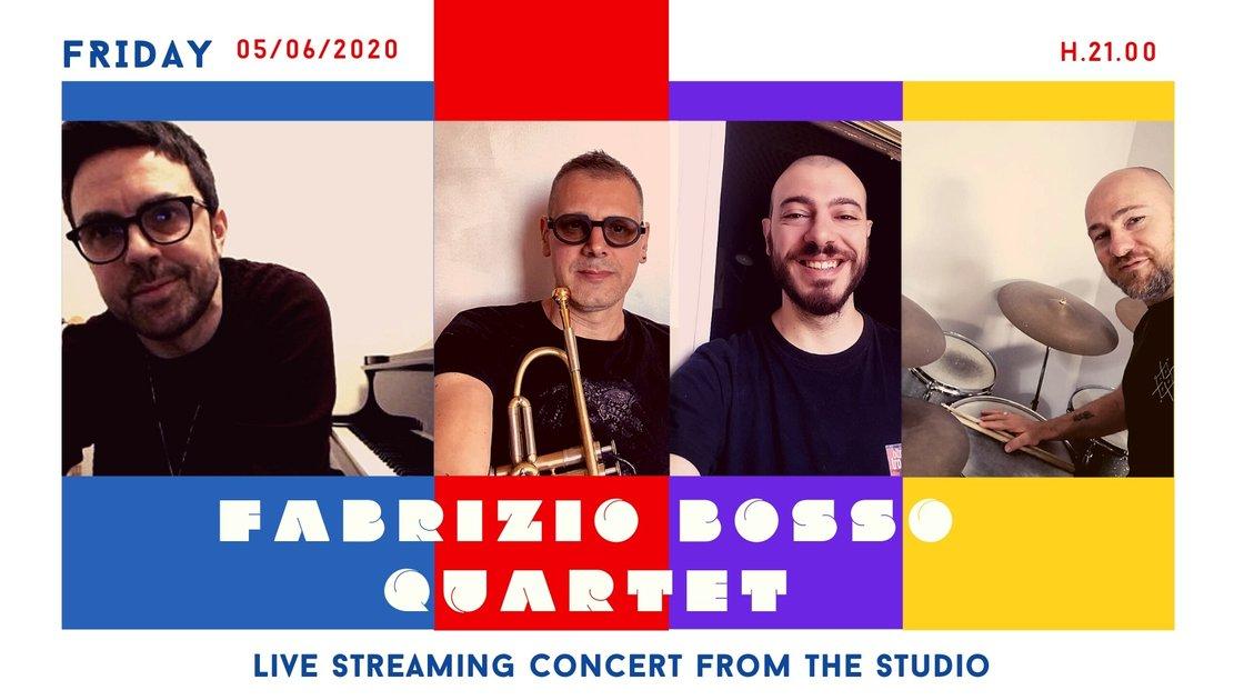Fabrizio Bosso Quartet • Live Streaming Concert
