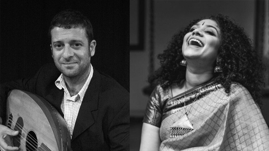 Roopa Mahadevan and George Ziadeh: Intersections of Raga and Maqam