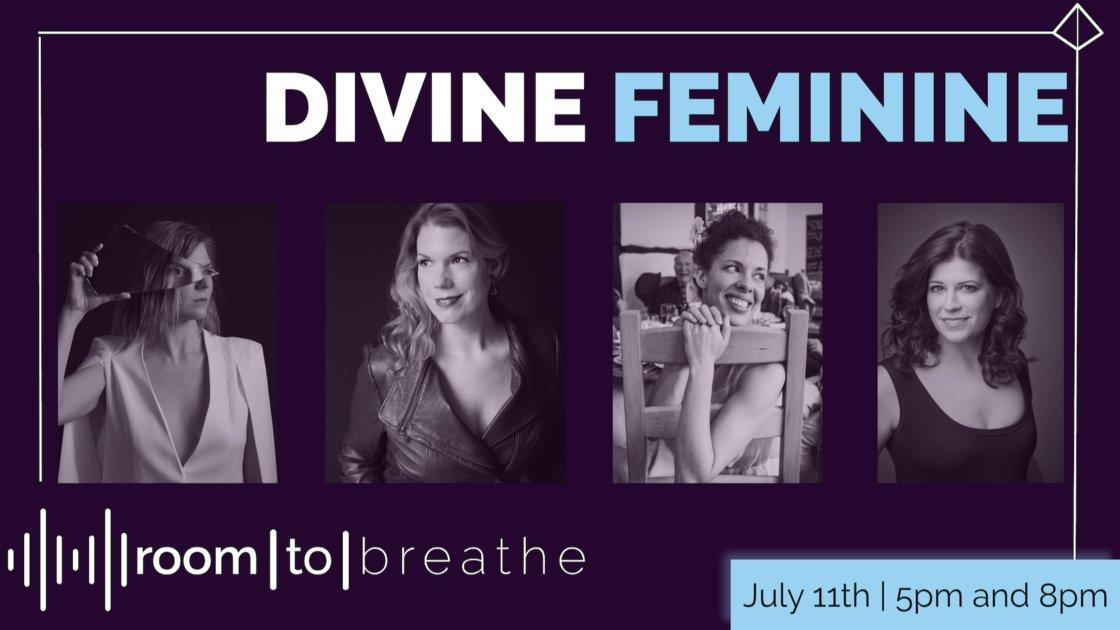 Room | to | Breathe: DIVINE FEMININE (Live Broadcast)