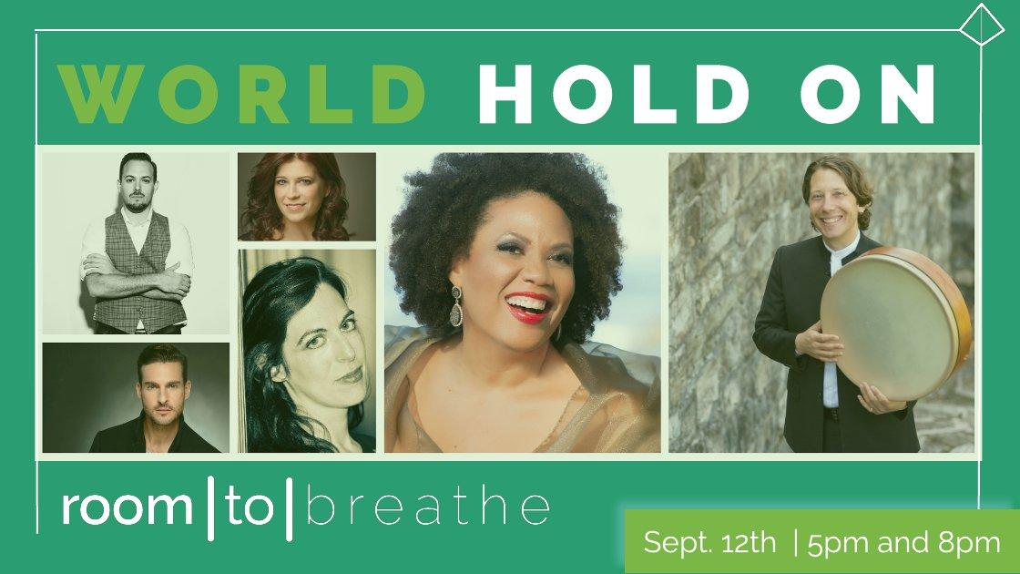 Room | to | Breathe: WORLD HOLD ON (Livestream)