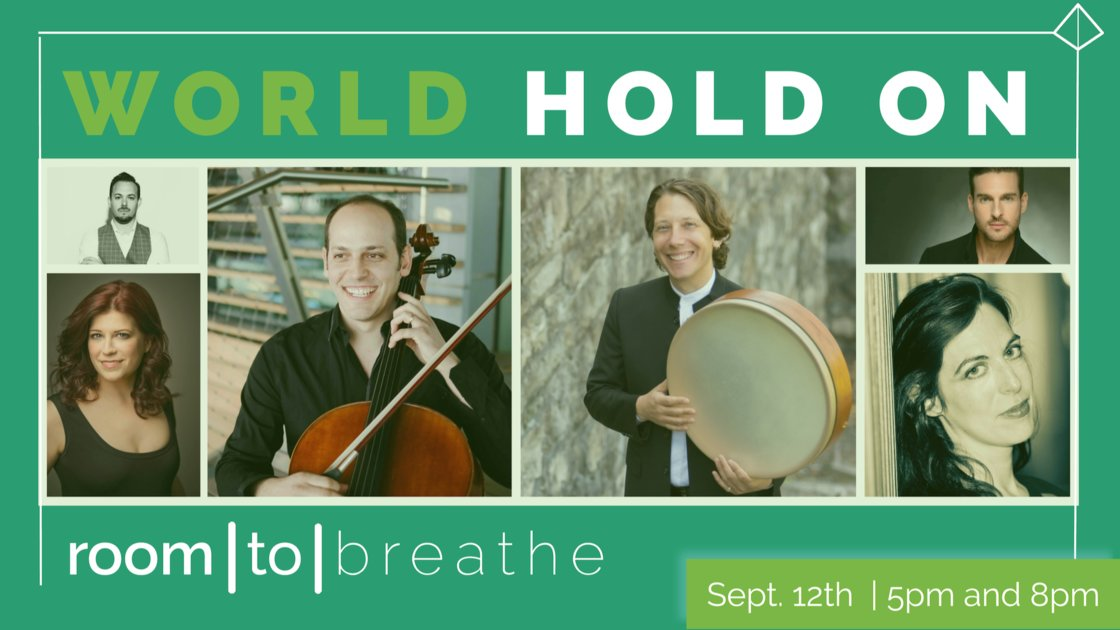 Room | to | Breathe: WORLD HOLD ON (Re-Broadcast)