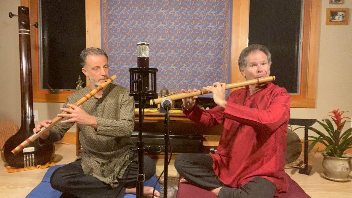 Luminous Ragas - Steve Gorn & Eric Fraser        Bansuri