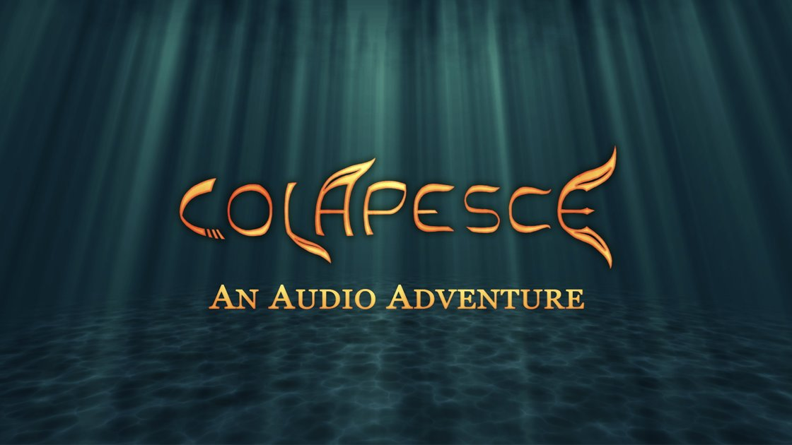 Colapesce: An Audio Adventure - PREMIERE LISTENING PARTY