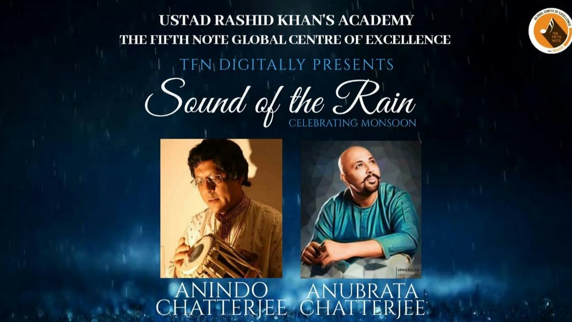 Ustad Rashid Khan Academy and Dhroopad presents the father son duo Pandit Anindo Chatterjee & Anubrata Chatterjee