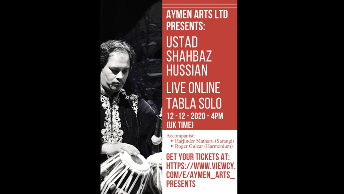 Aymen Arts Presents: Ustad Shahbaz Hussain Tabla Solo