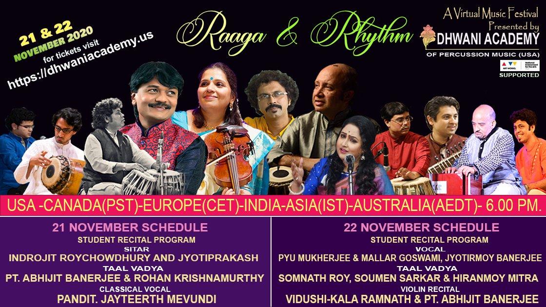 Raaga And Rhythm 2020 - GLOBAL Concert