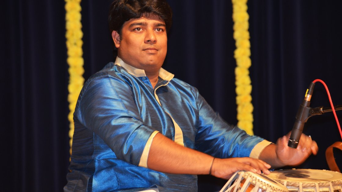 Tabla: Private lessons with Sandip Ghosh