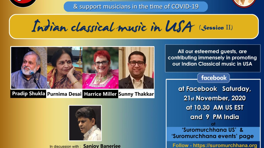 Indian Classical Music in USA - A Panel Discussion, Series II