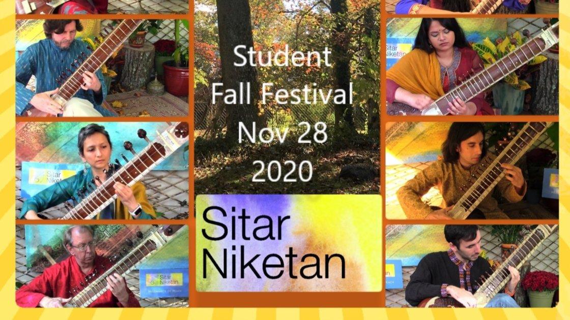 Sitar Niketan Student Fall Festival 2020