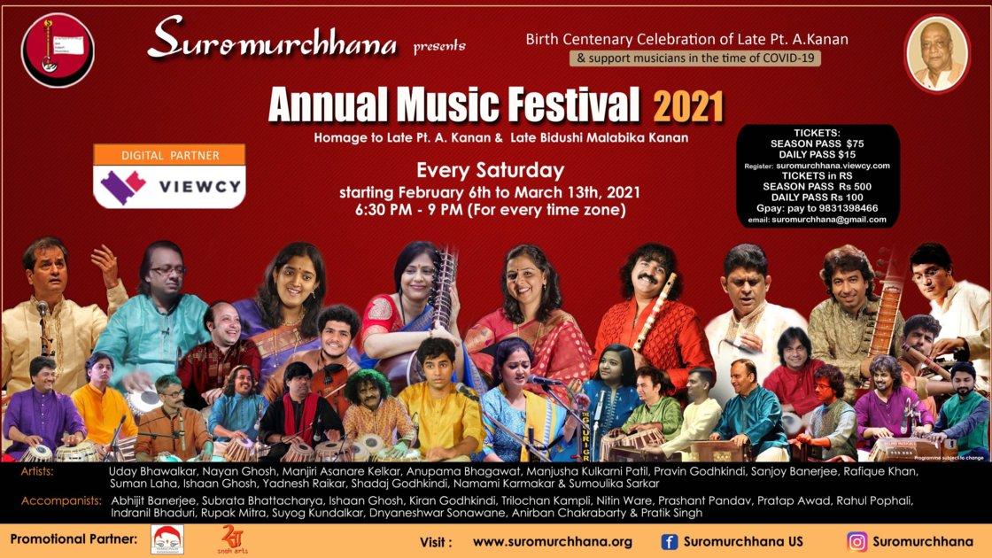 Annual Music Festival 2021 - Pt. Kanan Birth Centenary
