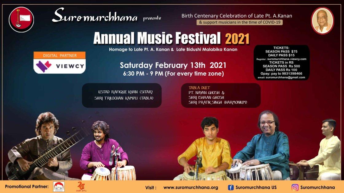 Session 2 -  Annual Music Festival 2021