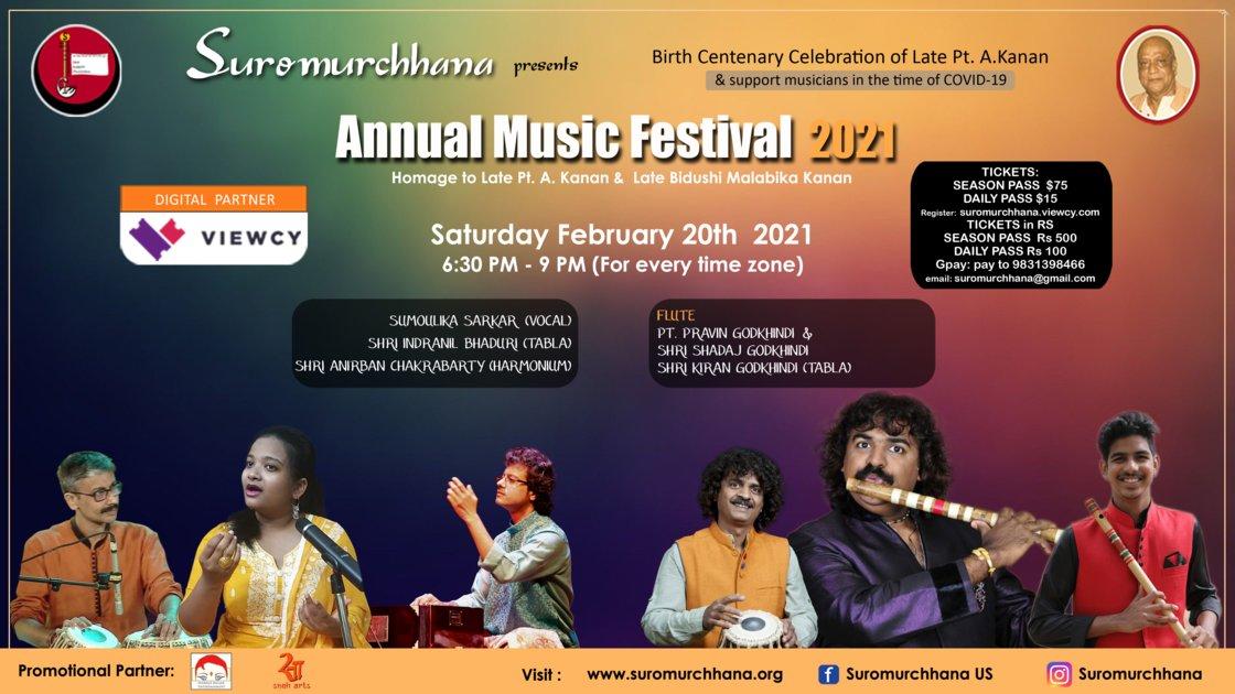 Session 3 - Annual Music Festival 2021