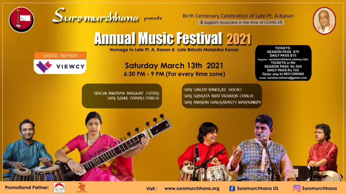 Session 6 - Annual Music Festival 2021