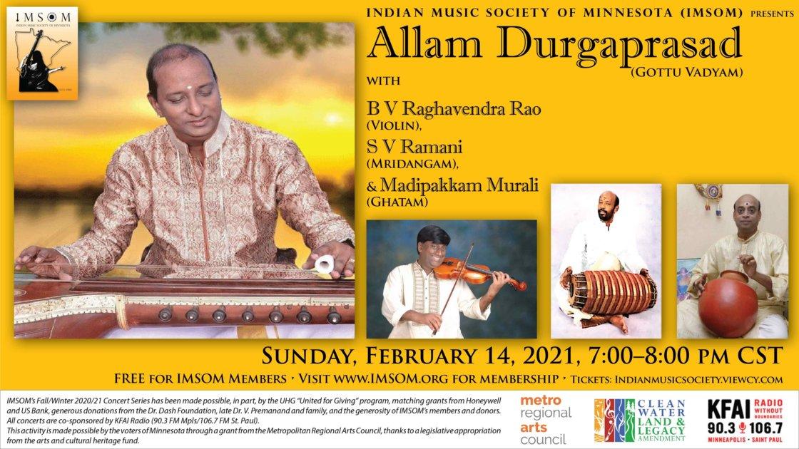 Gottu Vadyam - Allam Durgaprasad - IMSOM Winter 2020/21