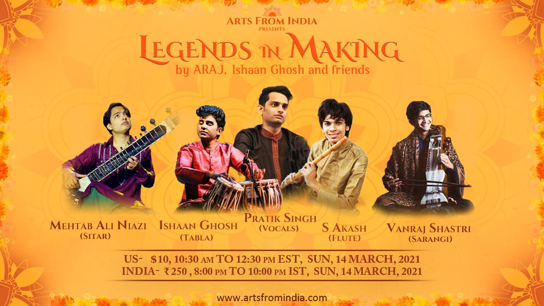 Legends in Making