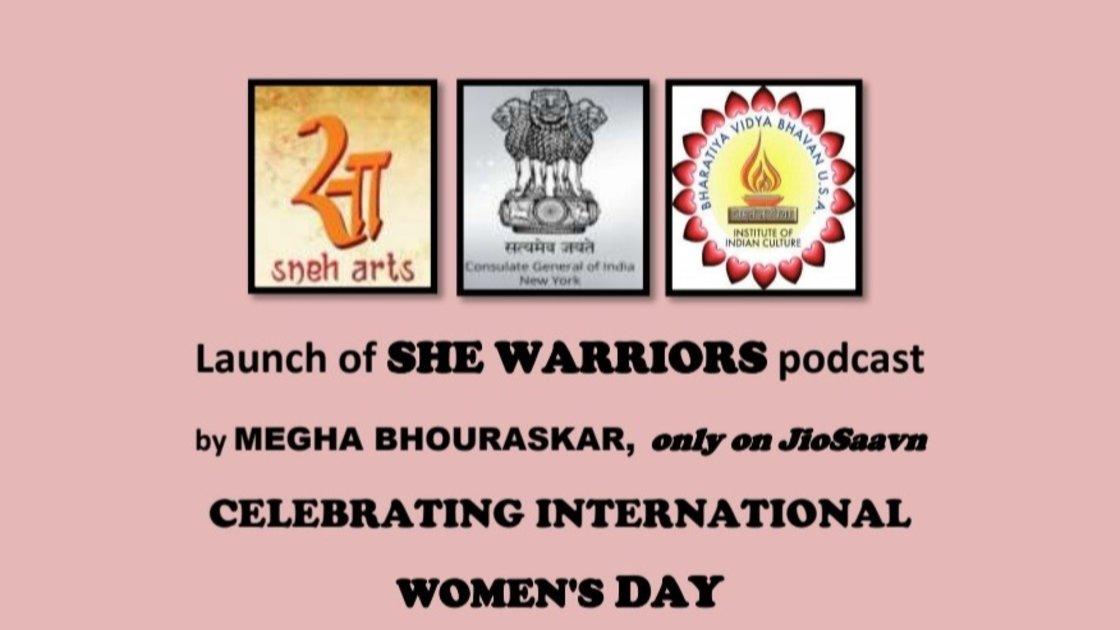 Launch of SHE WARRIORS by Megha Bhouraskar only on JioSaavn
