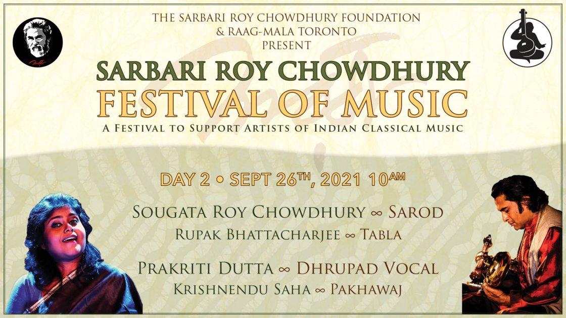 Sarbari Roy Chowdhury Festival • Day 2