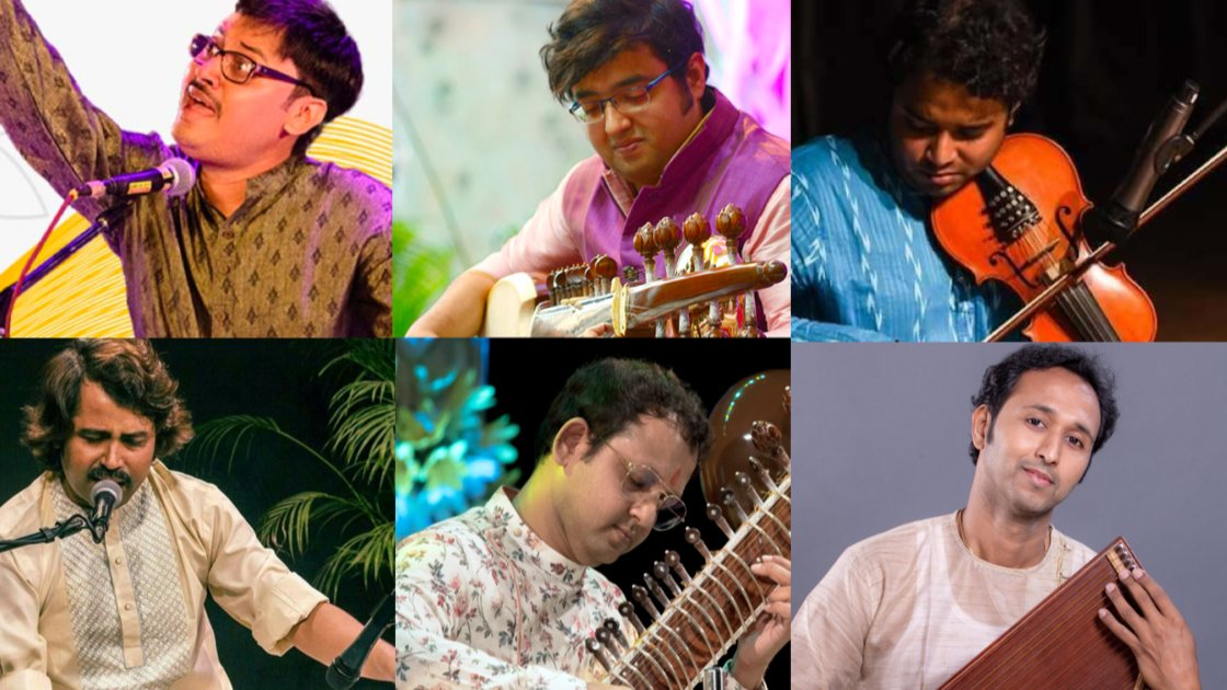 Thursday Evening Ragas: Artist curated session 1