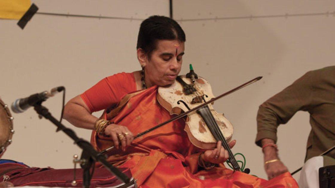 Violin Concert by A. Kanyakumari