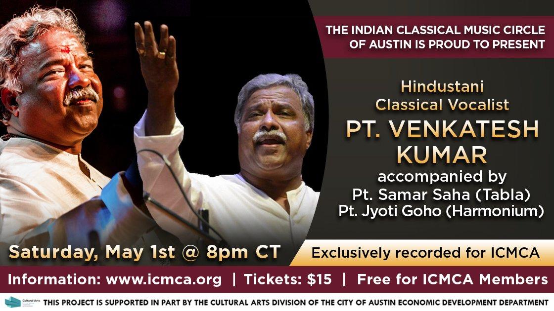 ICMCA presents Pandit Venkatesh Kumar