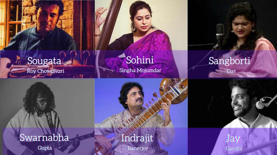 Thursday Evening Ragas: Artist curated session 2