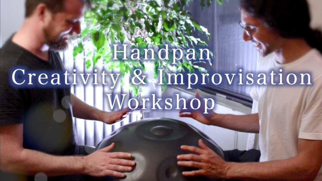 Long Island Handpan Creativity & Self Expression Workshop!