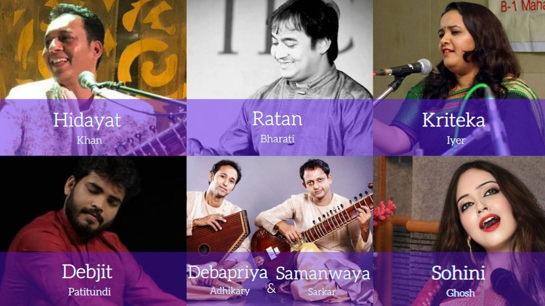 Thursday Evening Ragas: Artist curated session 4