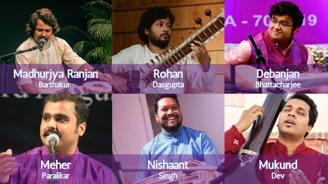 Thursday Evening Ragas: Artist curated session 5