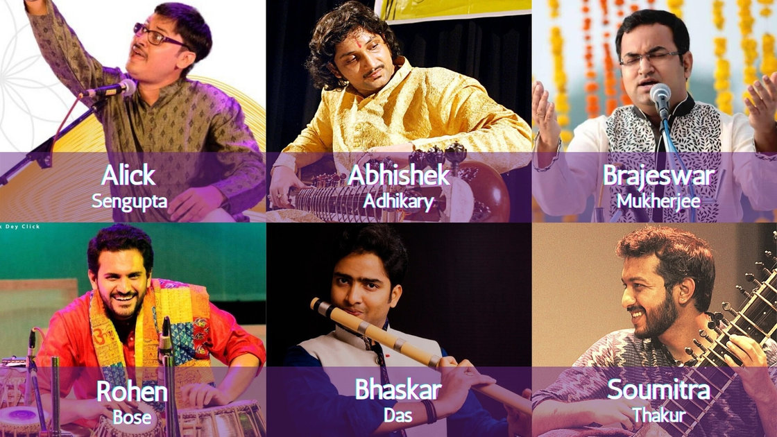 Thursday Evening Ragas: Artist curated session 6