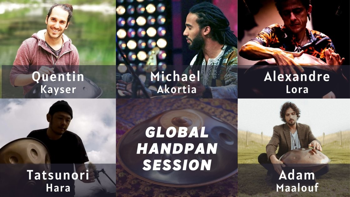 Global Handpan Session - Artist curated session 1