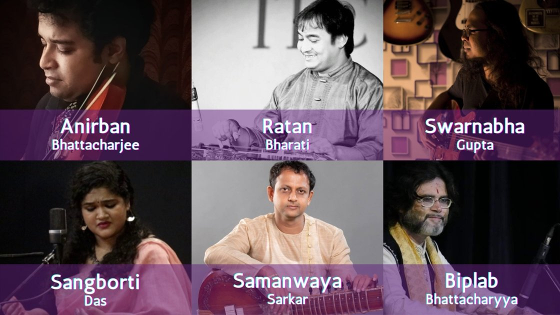 Thursday Evening Ragas: Artist curated session 7