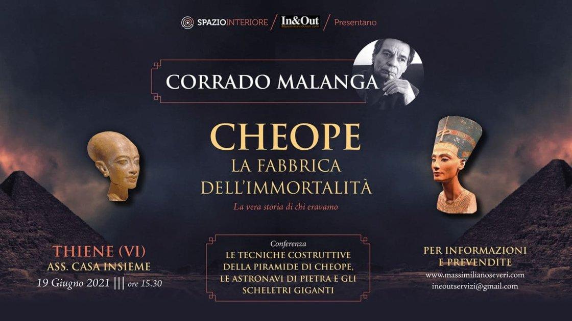 Corrado Malanga: Le Tecniche Costruttive della Piramide di Cheope, le Astronavi di Pietra e gli Scheletri Giganti