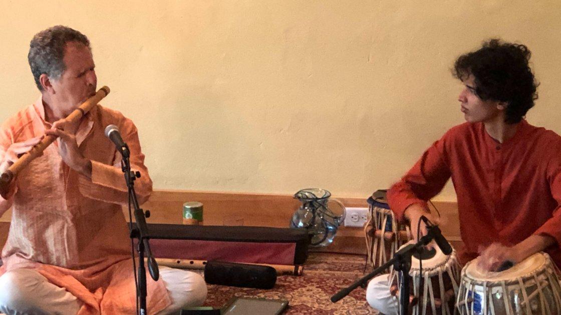 Steve Gorn, flute & Keshava, tabla Benefit for Covid Relief in India