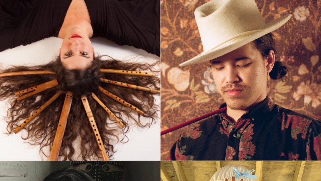Roots n' Ruckus Returns! Noah Harley (The Horse Eyed Man), Nat Myers, Miriam Elhajli, & Eleonore Weill