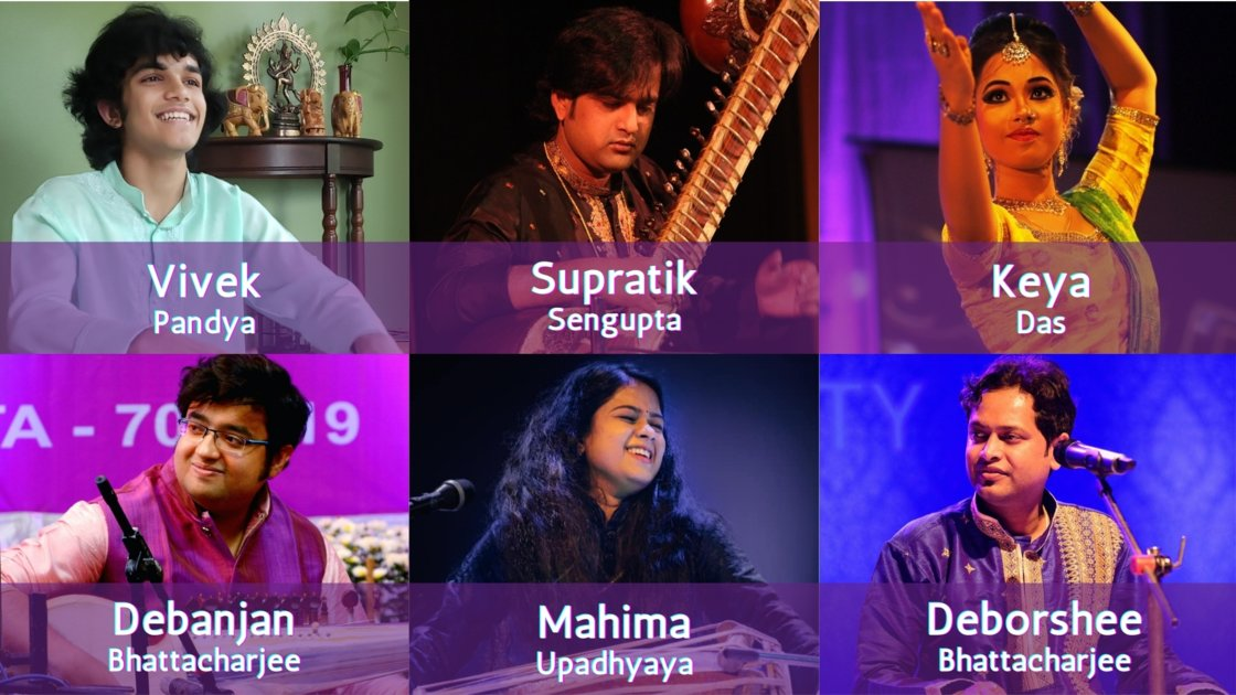 Thursday Evening Ragas: Artist curated session 9
