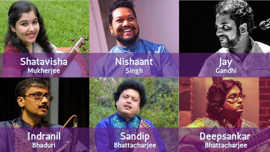 Thursday Evening Ragas: Artist curated session 10